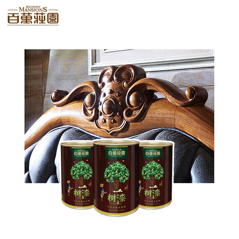 百万庄园树漆 高端天然木器漆  家具漆 优于木蜡油