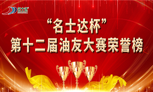 """重磅揭晓   2020年""""名士达杯""""第十二届油友大赛荣誉榜"""